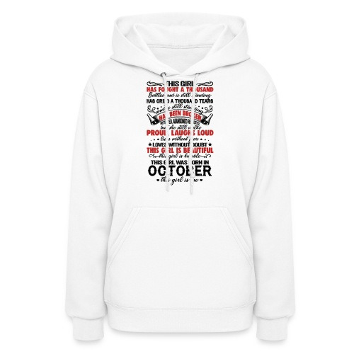 This Girl Has Fought A Thousand Battles This Girl - Women's Hoodie