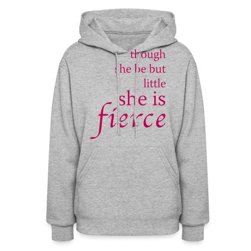 She Is Fierce - Women's Hoodie