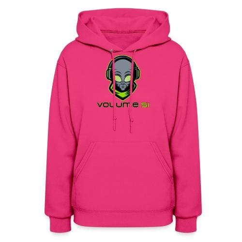 Volume 51 Text Logo - Women's Hoodie