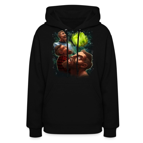 three sjin ranium transparentbk png - Women's Hoodie