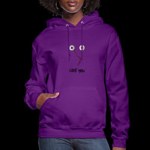 Eye Love You | Funny Love - Women's Hoodie