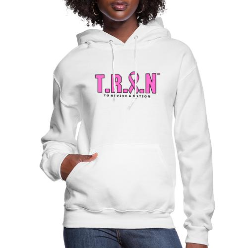 TRAN Ribbon Logo - Women's Hoodie
