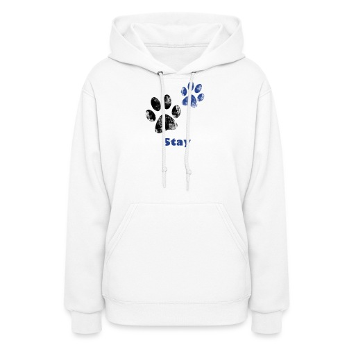 Stay Pawsitive! - Women's Hoodie