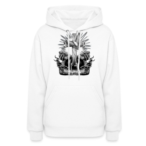 Salvacion by RollinLow - Women's Hoodie