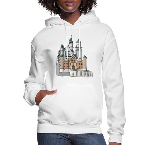 Neuschwanstein Castle, Bavaria - Women's Hoodie