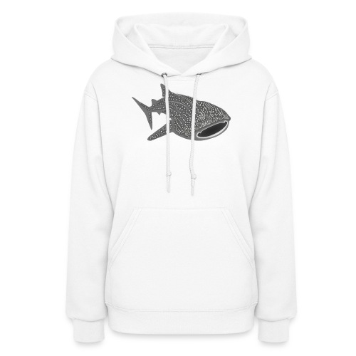 save the whale shark sharks fish dive diver diving - Women's Hoodie