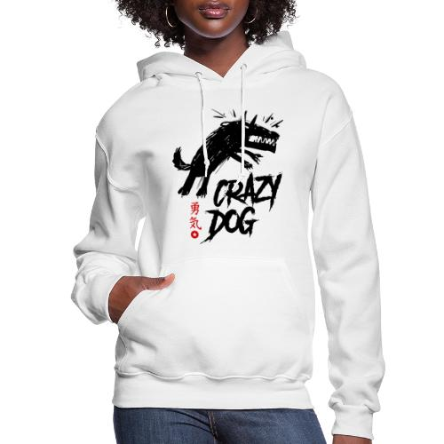 crazy mad dog - Women's Hoodie
