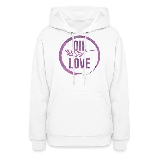 Oil Love Purple - Women's Hoodie