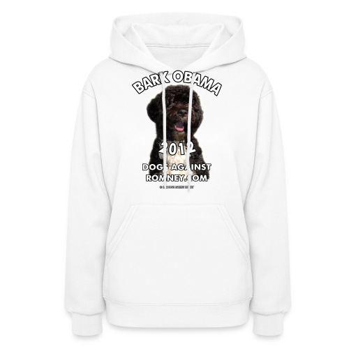 Official Dogs Against Romney Bark Obama 2012 - Women's Hoodie