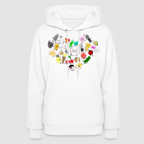 Inanimate Heart Color - Women's Hoodie