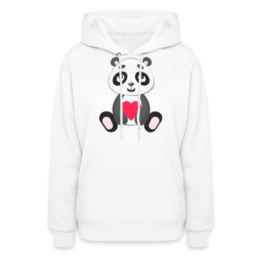 Sweetheart Panda - Women's Hoodie