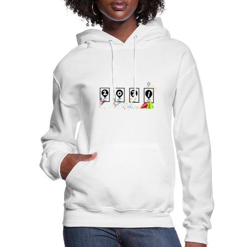 New Years Odometer Party Hats 2021 - Women's Hoodie