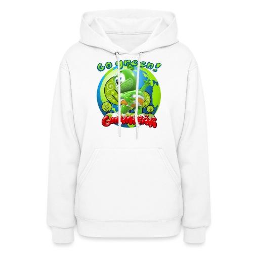 Gummibär Go Green Earth Day Earth - Women's Hoodie
