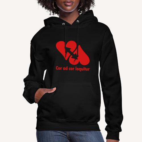 COR AD COR LOQUITUR - Women's Hoodie