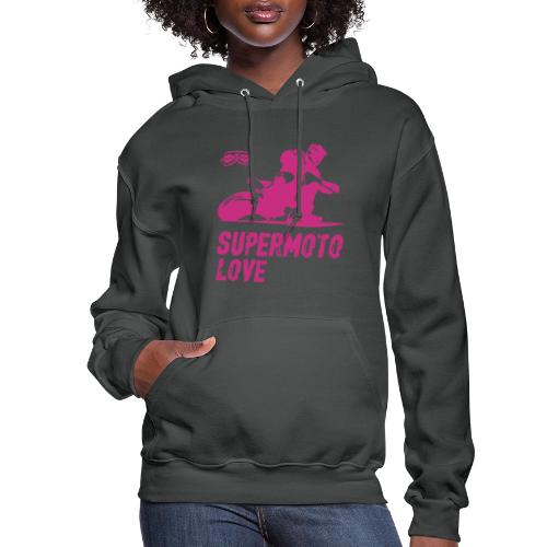 Supermoto Love - Women's Hoodie