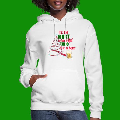 Most Wonderful Time For A Beer - Women's Hoodie