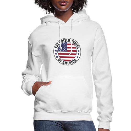 The United States of America - USA - Women's Hoodie