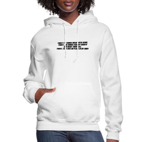 Today I'm Gonna... - Women's Hoodie