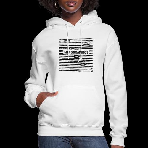 MELOGRAPHICS | Blackout Poem - Women's Hoodie