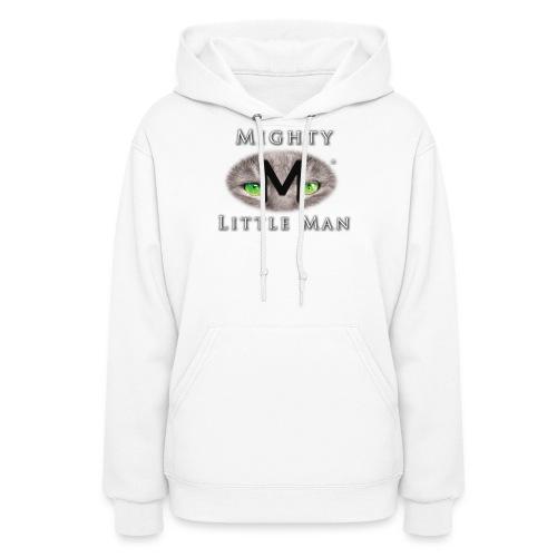 MIGHTY LITTLE MAN Logo - Women's Hoodie