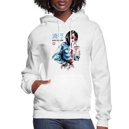 fashion style vogue trend - Women's Hoodie