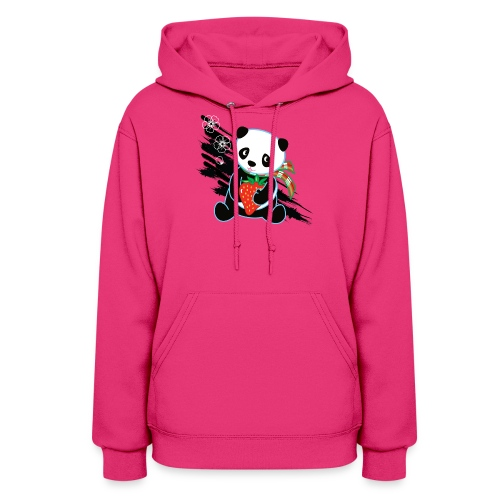 Cute Kawaii Panda T-shirt by Banzai Chicks - Women's Hoodie