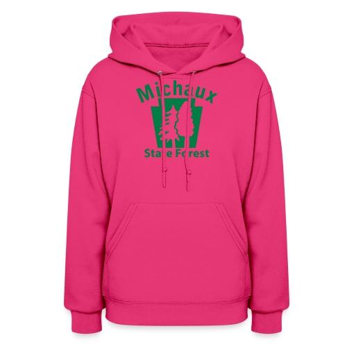 Michaux State Forest Keystone (w/trees) - Women's Hoodie