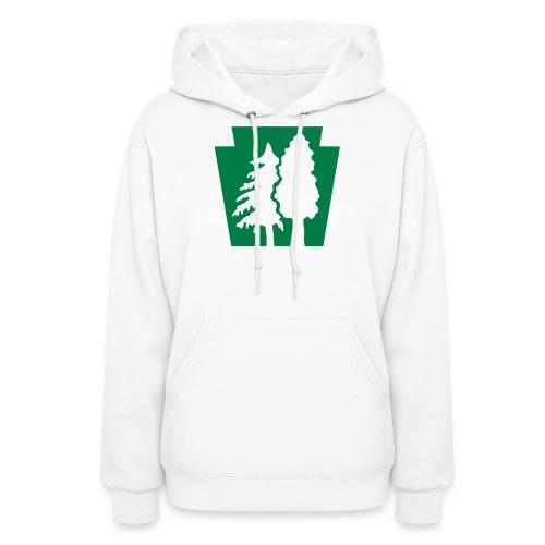 PA Keystone w/trees - Women's Hoodie