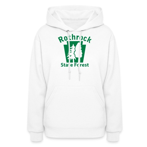Rothrock State Forest Keystone (w/trees) - Women's Hoodie