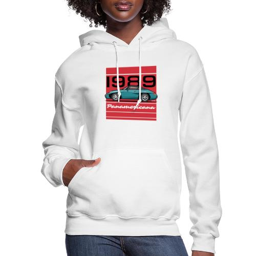 1989 P0r5che Panamericana Concept Car - Women's Hoodie