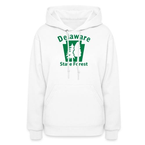 Delaware State Forest Keystone (w/trees) - Women's Hoodie