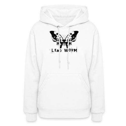Lead Worm - logo - Women's Hoodie