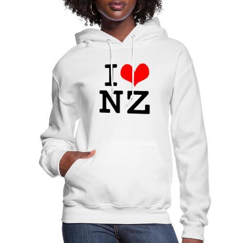 I Love NZ - Women's Hoodie