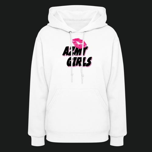 azmt girls logo #2 - Women's Hoodie