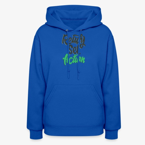 Ready.Set.Action! - Women's Hoodie