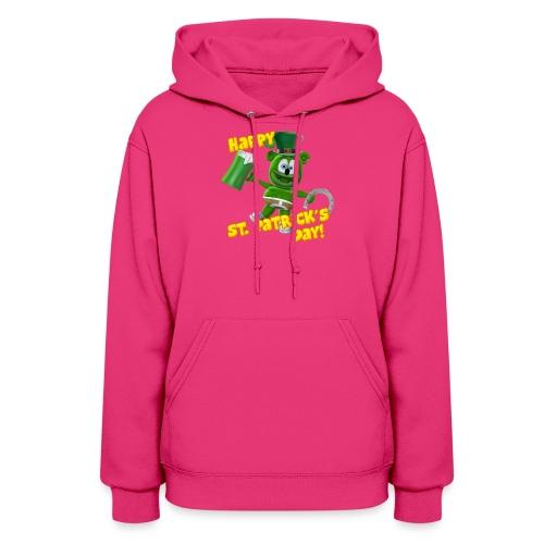 Gummibär (The Gummy Bear) Saint Patrick's Day - Women's Hoodie