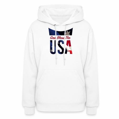 God Bless The USA Veterans T-Shirts - Women's Hoodie
