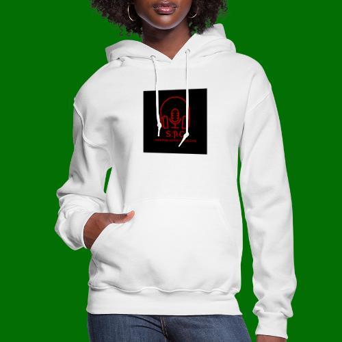 SPC Logo Black/Red - Women's Hoodie