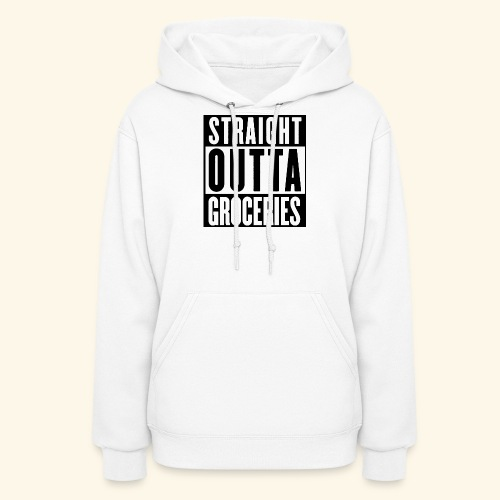 STRAIGHT OUTTA GROCERIES - Women's Hoodie