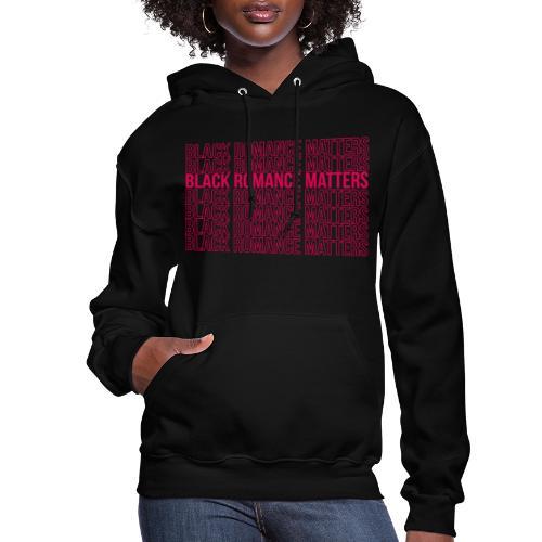 Black Romance Matters Grocery Bag tee - Women's Hoodie