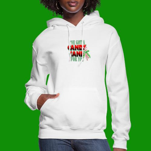 Candy Cane - Women's Hoodie