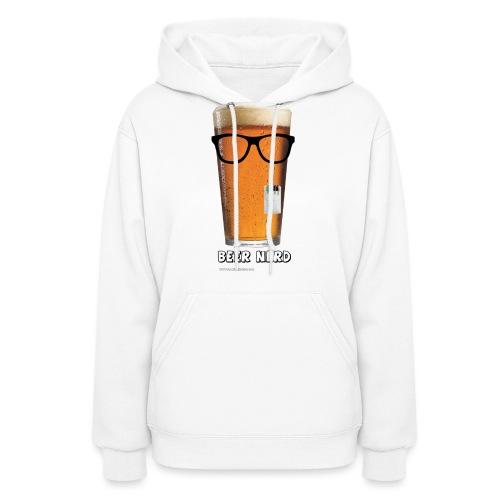 Beer Nerd Men's 3XL/4XL Hooded Sweatshirt - Women's Hoodie