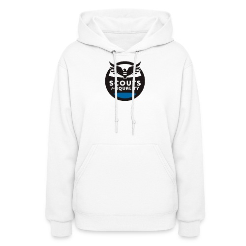 scoutsforequality bluelogo - Women's Hoodie