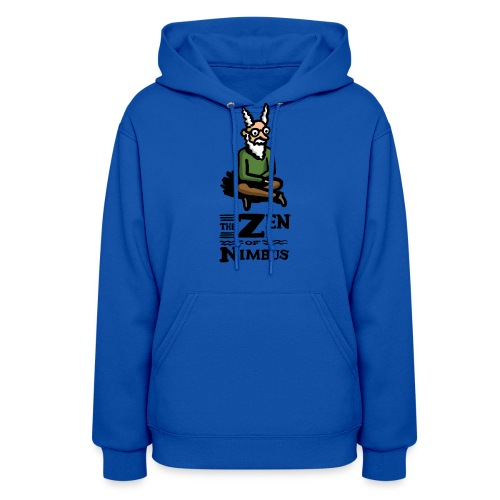 Nimbus character in color and logo vertical - Women's Hoodie
