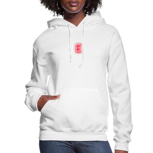 Neon E - Women's Hoodie