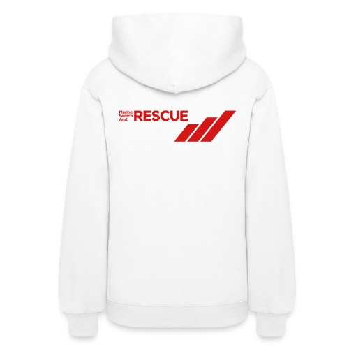 MSAR Red Logo with Stripes - Women's Hoodie
