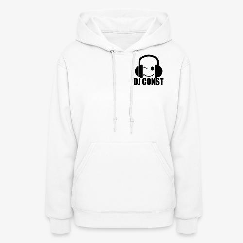 DJ Const Official Merch White - Women's Hoodie