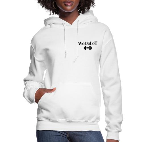 WoDaLoT black logo - Women's Hoodie