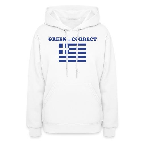 greekcorrect - Women's Hoodie