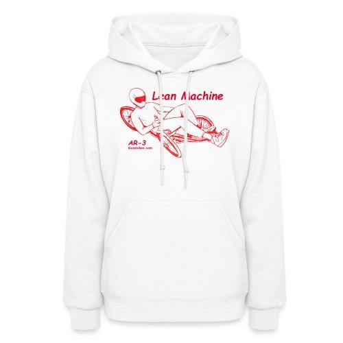 Lean Machine AR-3 all Red Logo Shirt - Women's Hoodie